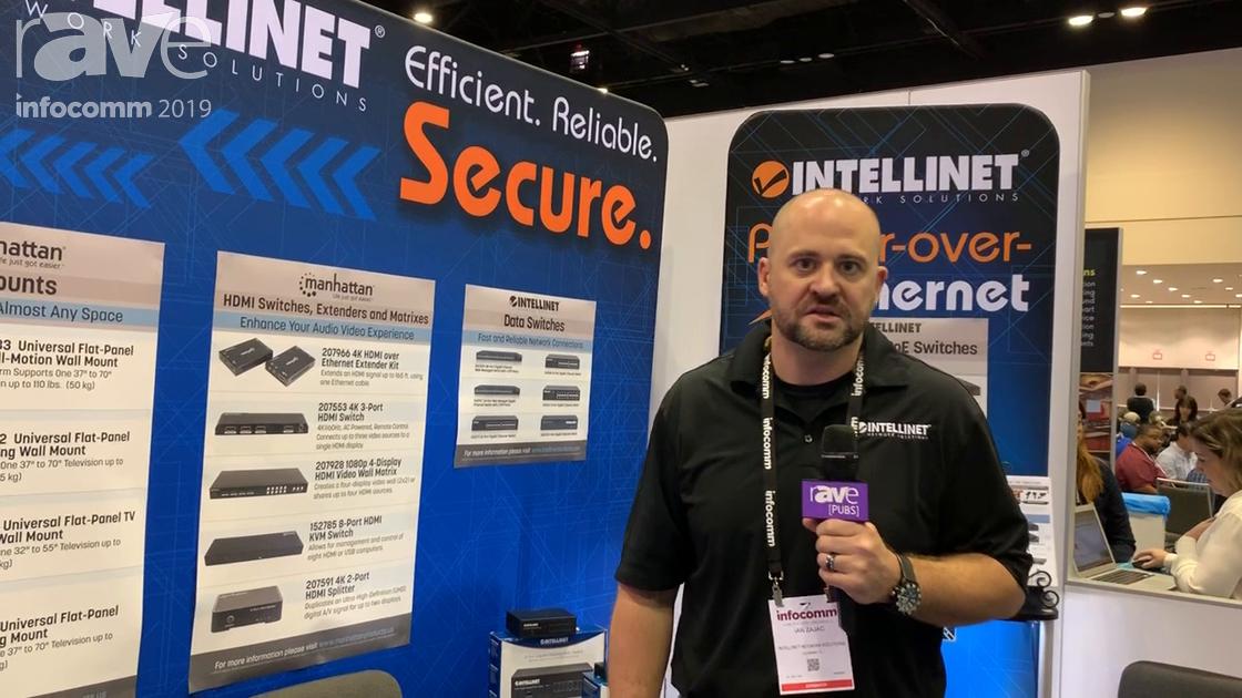 InfoComm 2019: Intellinet Shows 10/100 PoE, Gigabit PoE+, Gigabit Ultra PoE+ Injectors, PoE Extender