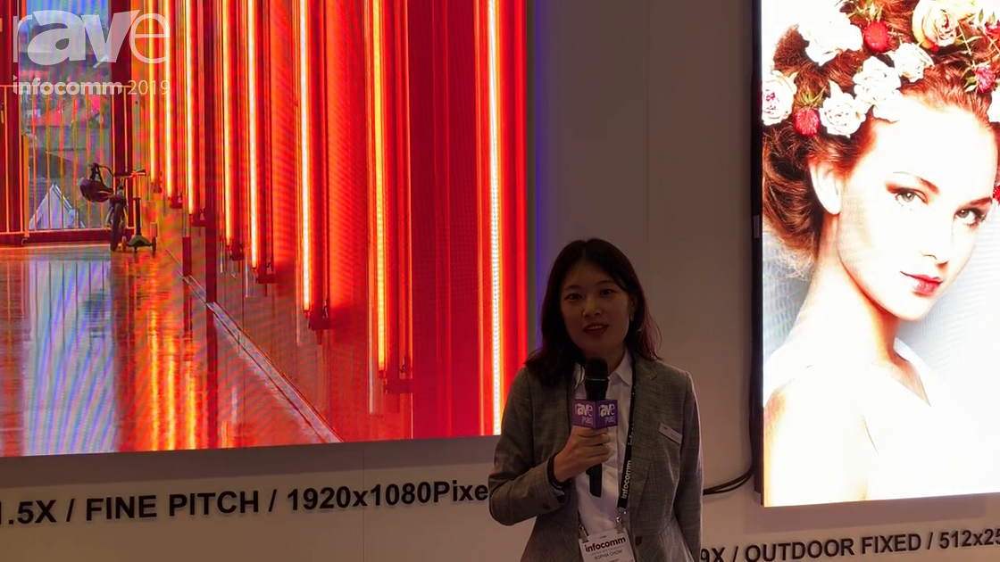 InfoComm 2019: Lamp Technology Features Its 1.5mm HN1.5x LED Display
