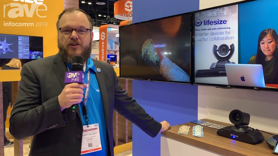 InfoComm 2019: Lifesize Showcases the Icon 700 4K Point-to-Point Videoconferencing System