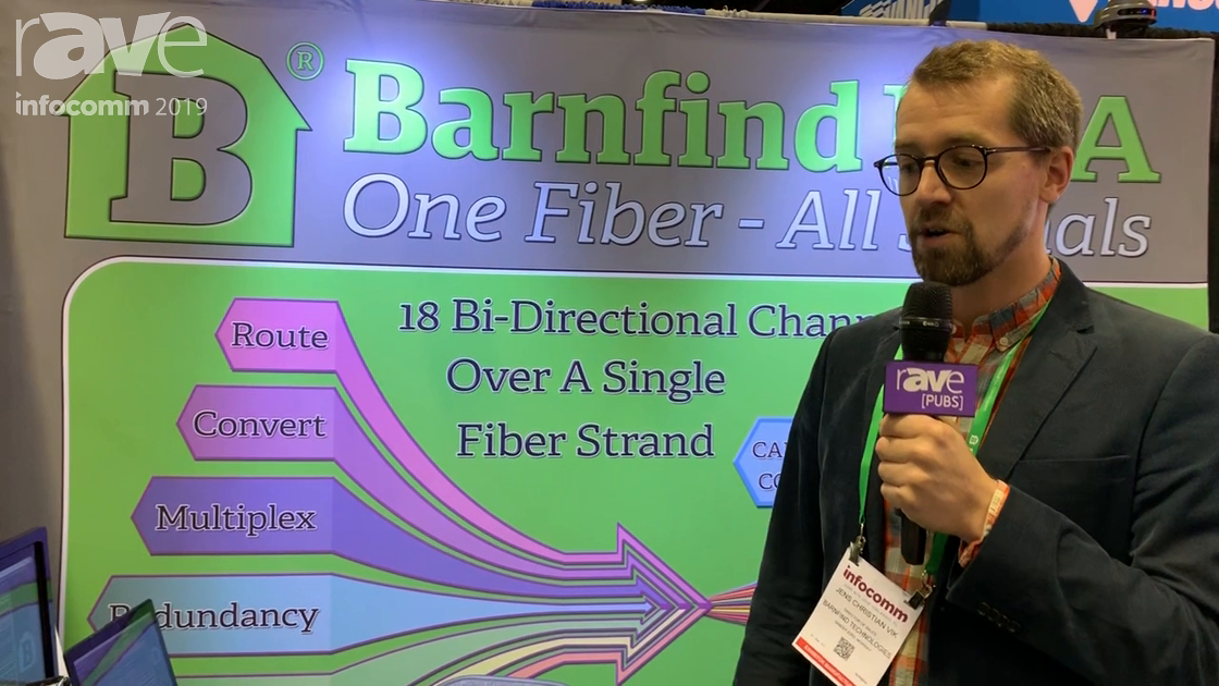 InfoComm 2019: Barnfind USA Features the Barn One 1RU 32×32 Matrix Switcher