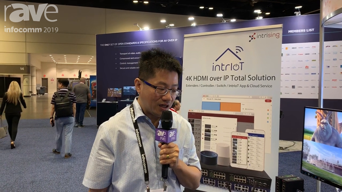 InfoComm 2019: Intrising Features Intriot 4K HDMI-Over IP Total Solutions