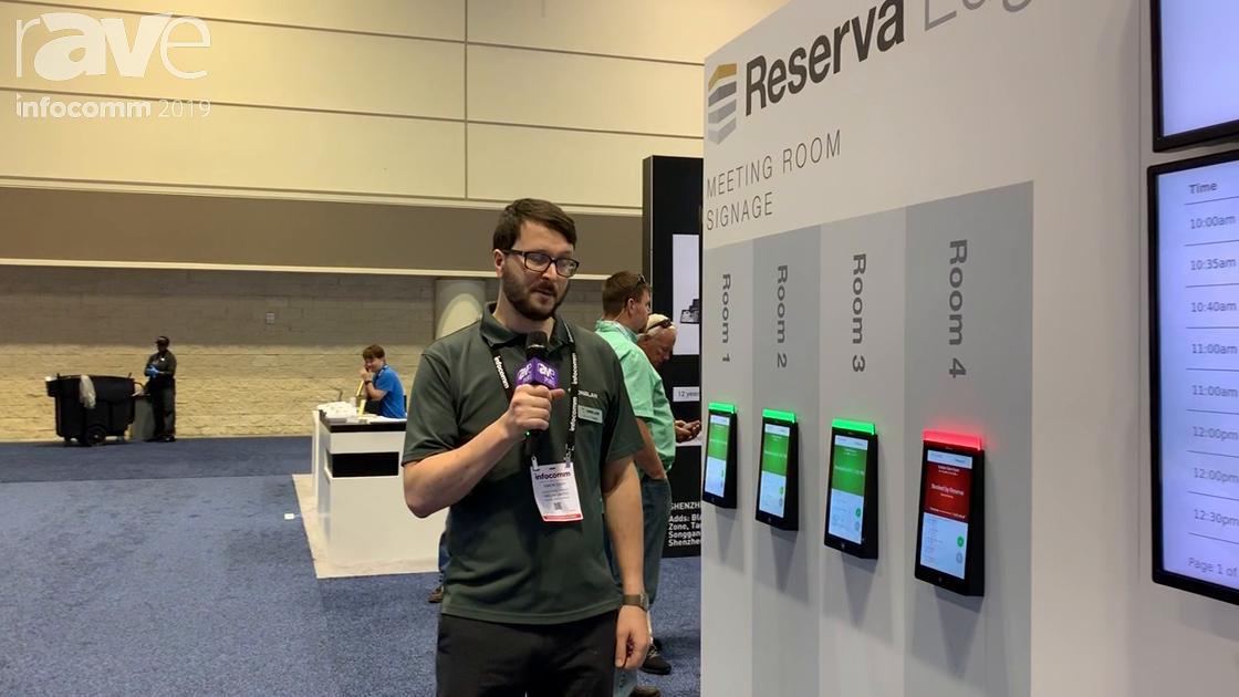 InfoComm 2019: Onelan Reveals Its Reserva Edge Room Signs