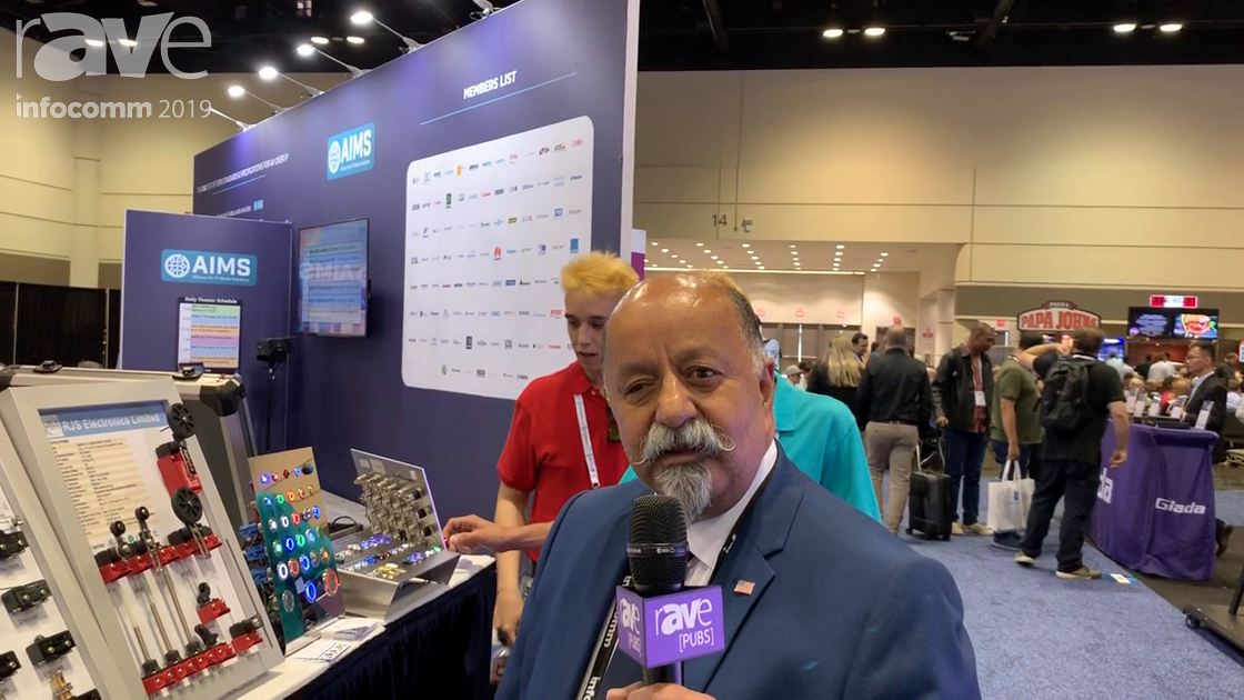 InfoComm 2019: RJS Electronics Ltd Featires Lines of PCB, Navigation, SMD Switches
