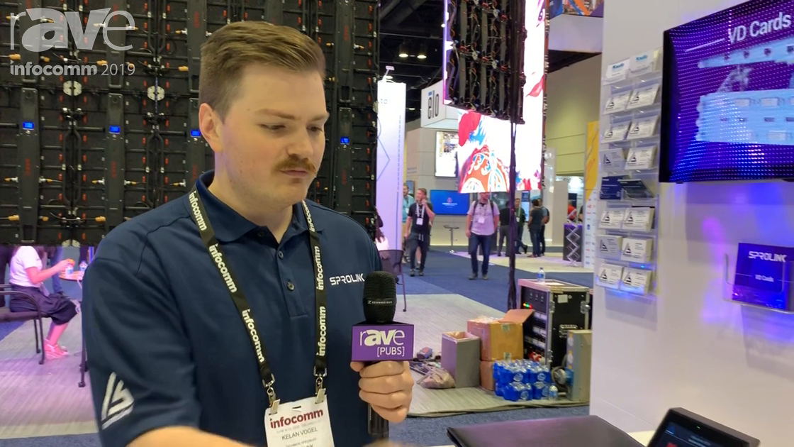 InfoComm 2019: SPROLINK Exhibits Its Open-API VD Series Modular Video Wall Controllers