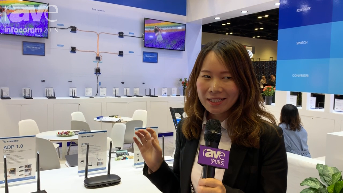 InfoComm 2019: Shenzhen Lenkeng Technology Showcases the ADP 1.0 Digital Advertising Player