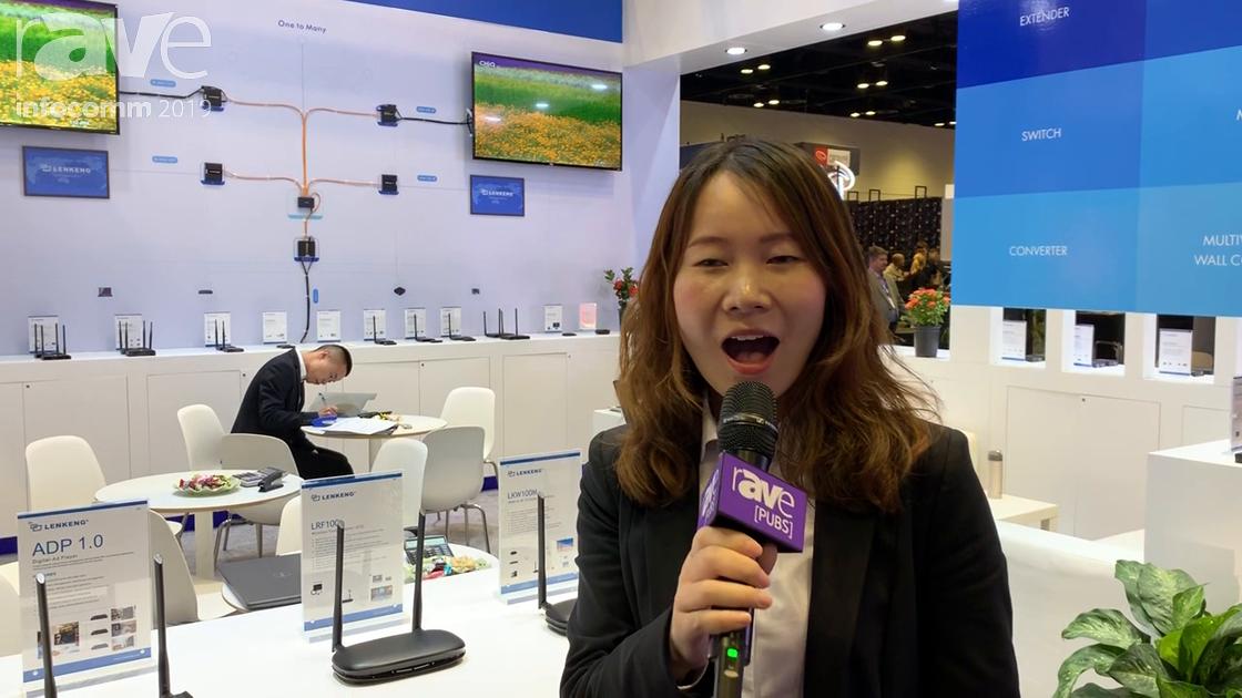 InfoComm 2019: Shenzhen Lenkeng Technology Features LKV 3067 HDMI to Bluetooth Converter