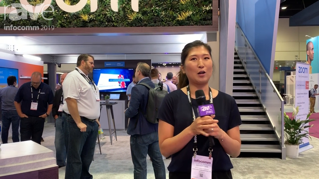 InfoComm 2019: Zoom Showcases Single-Vendor Kits for Zoom Rooms, Plus People-Counting in UCC