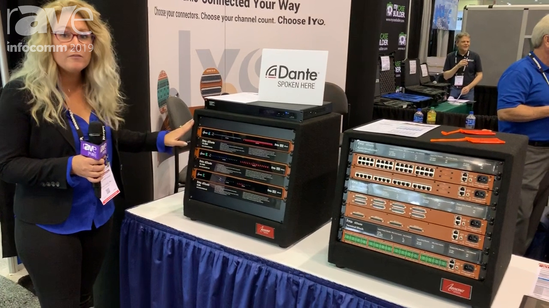 InfoComm 2019: AudioScience Shows IYO Dante Line In/Out Interfaces for Audio-Over-IP