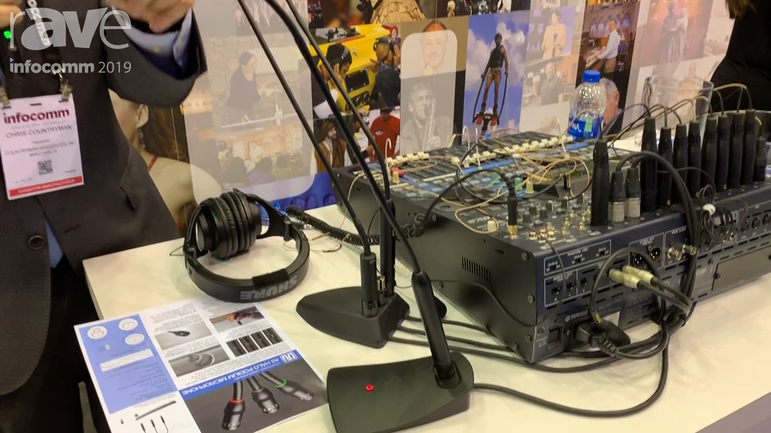 InfoComm 2019: Countryman Highlights Its Brand New A3 Halo Gooseneck Podium Microphone