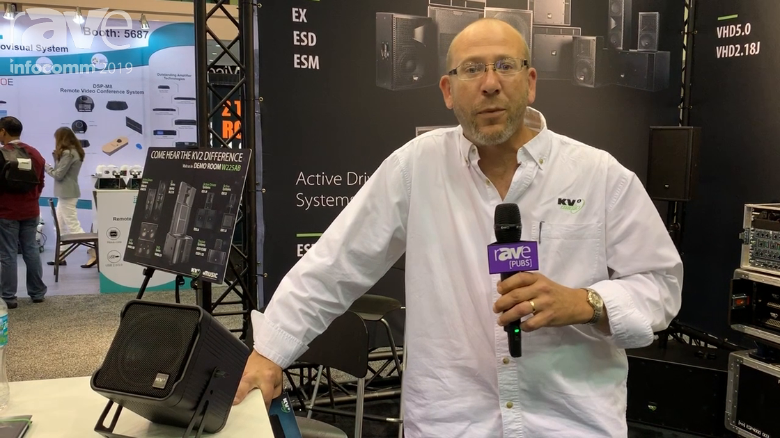 InfoComm 2019: KV2 Audio Shows Off Its New ESD Series Cube Speakers