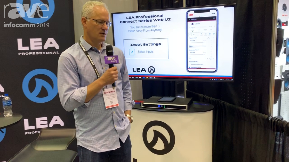 InfoComm 2019: LEA Professional Showcases 1RU Connect Series Amplifier