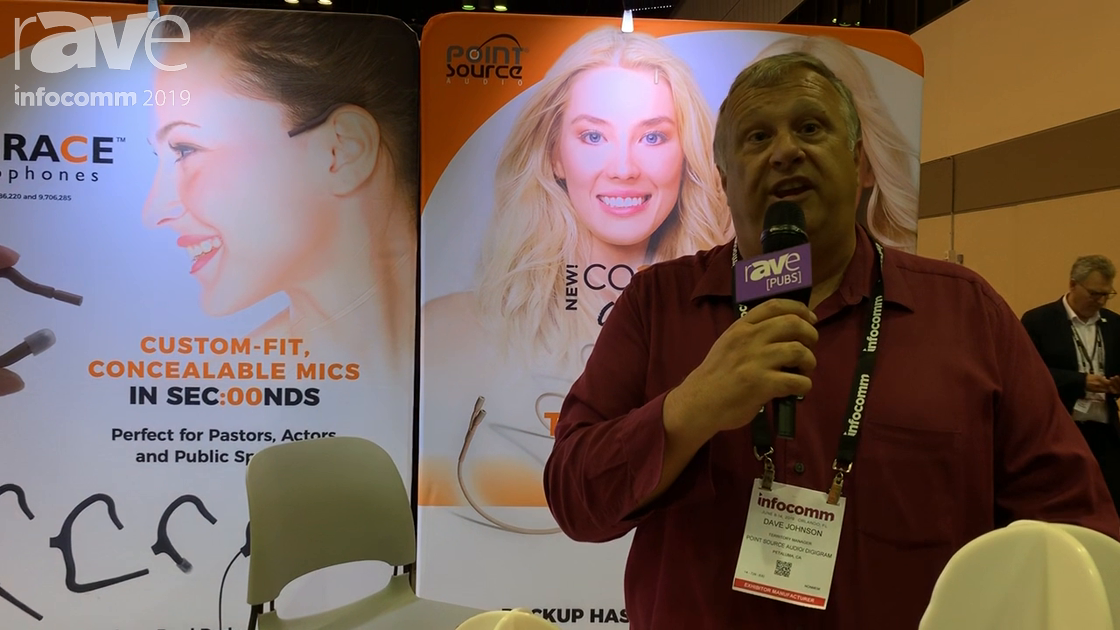 InfoComm 2019: Point Source Audio Intros CO2-8WD Headset Microphone With Dual Elements