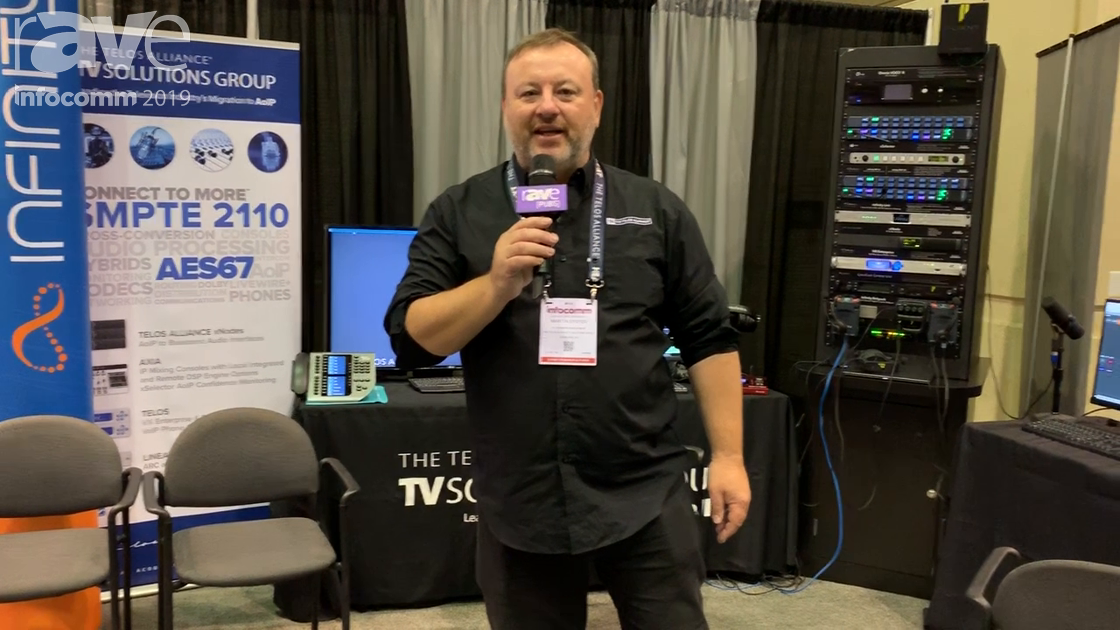 InfoComm 2019: Telos Alliance TV Solutions Group Shows Telos Infinity IP Intercom