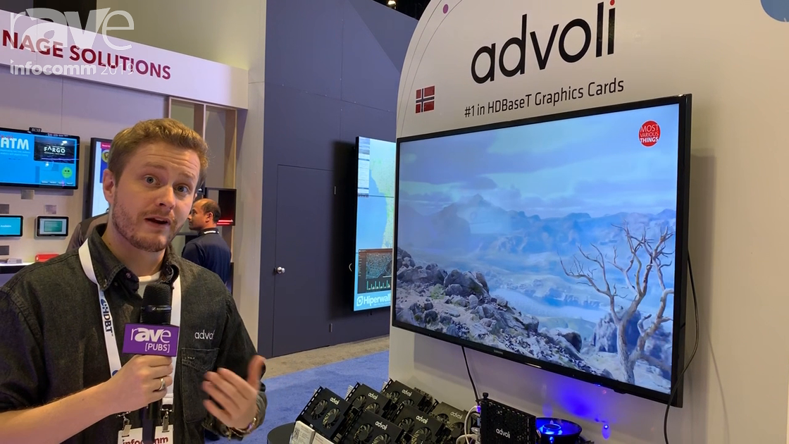 InfoComm 2019: advoli Features 4K60 4:4:4 HDBaseT PCIe Extender Set at the HDBaseT Alliance Booth