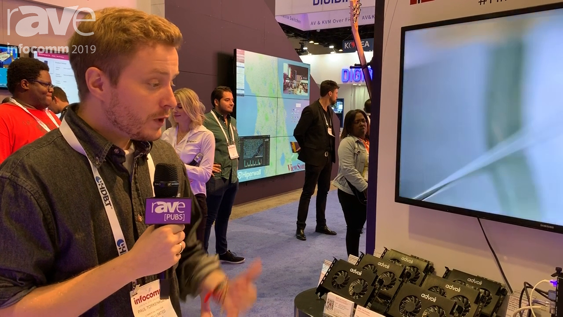 InfoComm 2019: advoli Showcases HDBaseT Native Graphics Cards