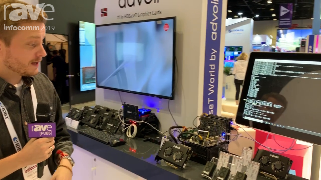 InfoComm 2019: advoli Intros New HDBaseT Receivers at the HDBaseT Alliance Booth