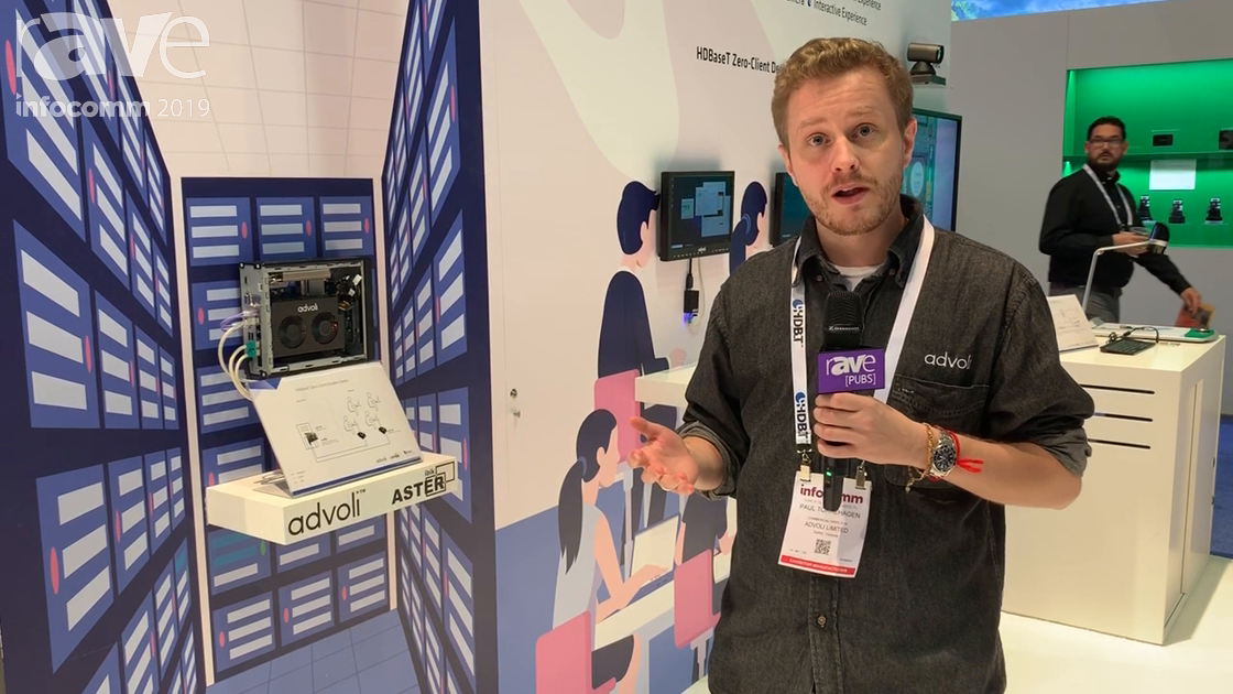 InfoComm 2019: advoli Features a Zero-Client HDBaseT Solution at the HDBaseT Alliance Booth