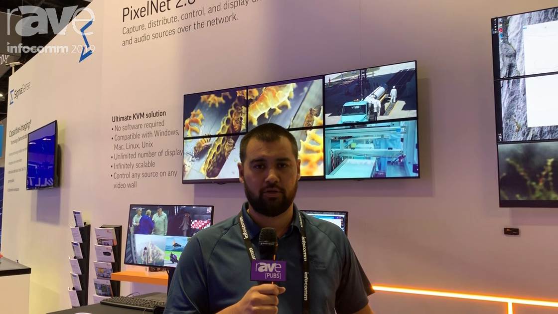 InfoComm 2019: Jupiter Systems Talks PixelNet 2.0 AV-Over-IP Hardware System for 4K Over the Network