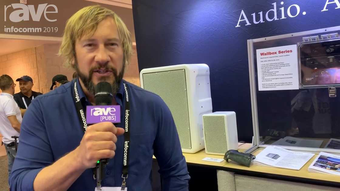 InfoComm 2019: Technomad Overviews Line of Outdoor, Weatherproof, Military-Grade Speakers