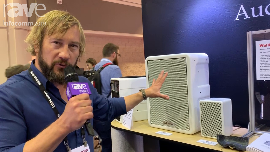 InfoComm 2019: Technomad Has a Line of PowerChiton Weatherproof Amplifiers, Plus Breakout Boxes
