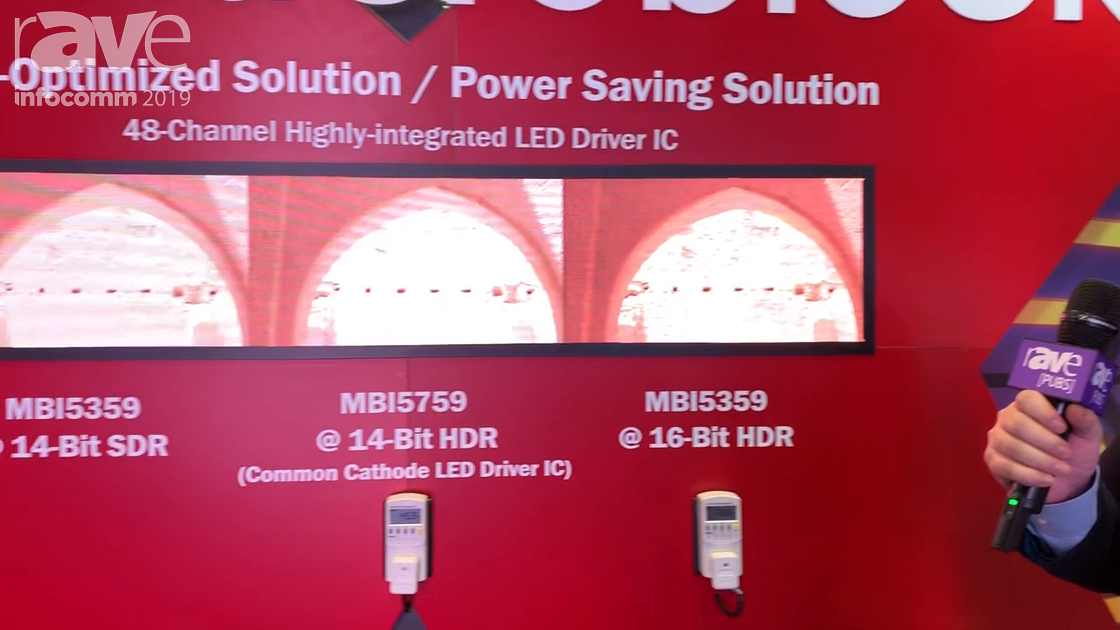 InfoComm 2019: Macroblock Demos 48-Channel Highly-Integrated LED Driver IC