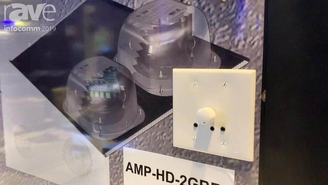 InfoComm 2019: OWI Intros Amplified HD Double Gang Box