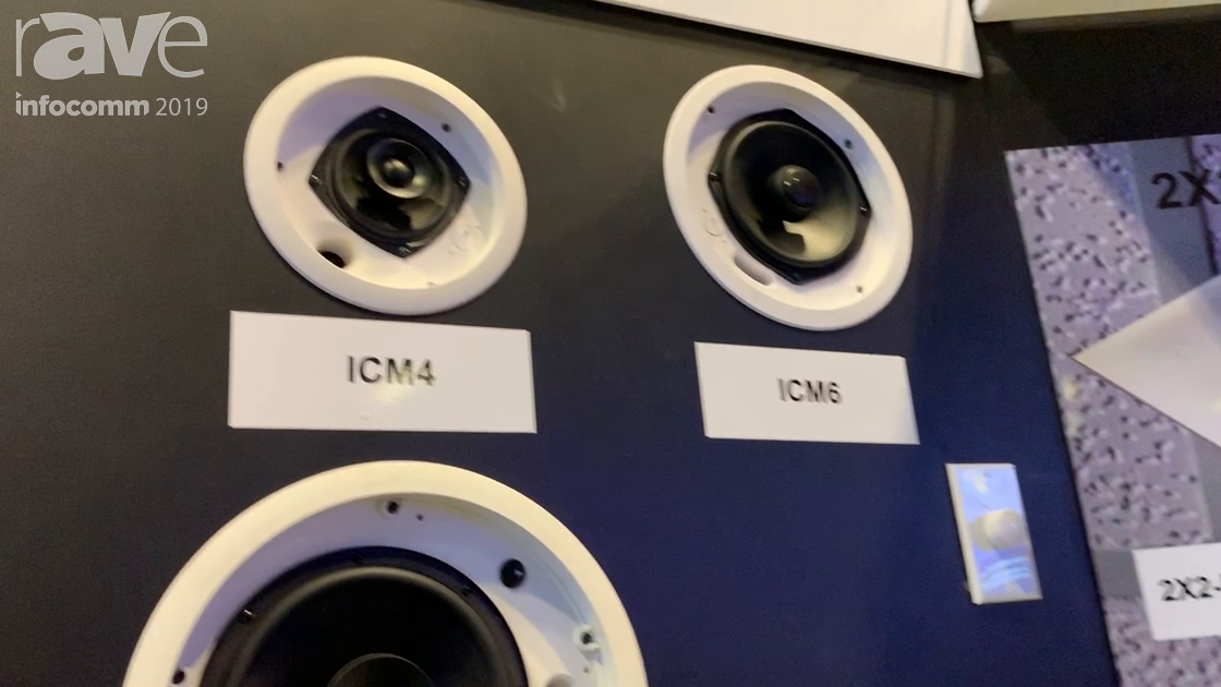 InfoComm 2019: OWI Introduces Cost-Effective ICM4 In-Wall Speaker With 4″ Woofer, 1″ Tweeter