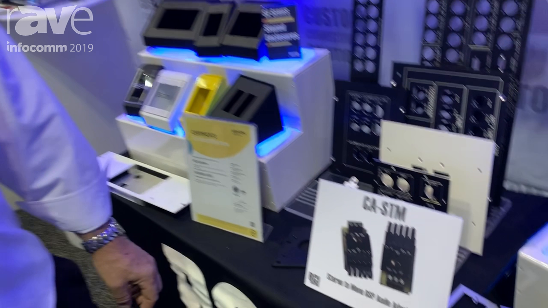 InfoComm 2019: RCI Custom Adds CA-STM Stereo to Mono DSP Audio Adapter