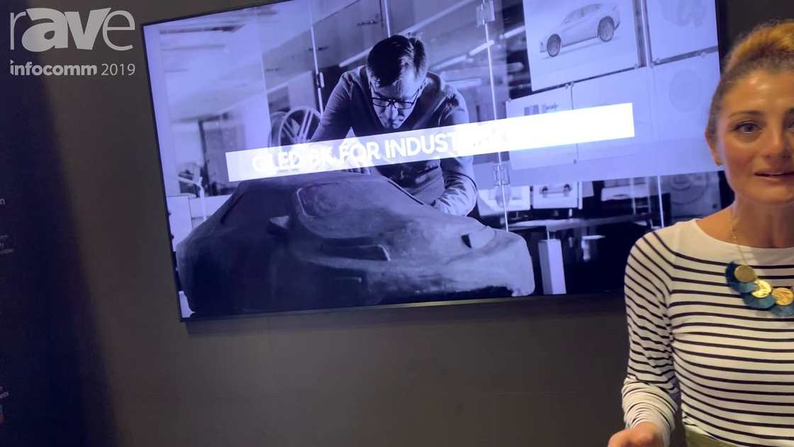 InfoComm 2019: Samsung Showcases Its QLED 8K Display, With Artificial Intelligent Upscaling