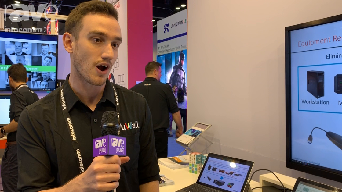 InfoComm 2019: VuWall Shows Coscape Meeting Room Presentation and Collaboration System