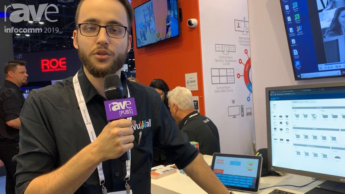 InfoComm 2019: VuWall Showcases Its TRx AV Network Management Solution Across Multiple Buildings