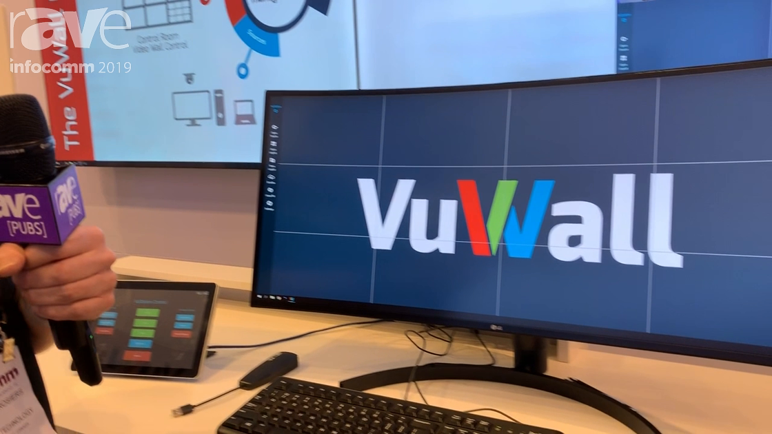 InfoComm 2019: VuWall Showcases Its VuStation Personal Video Wall Controller