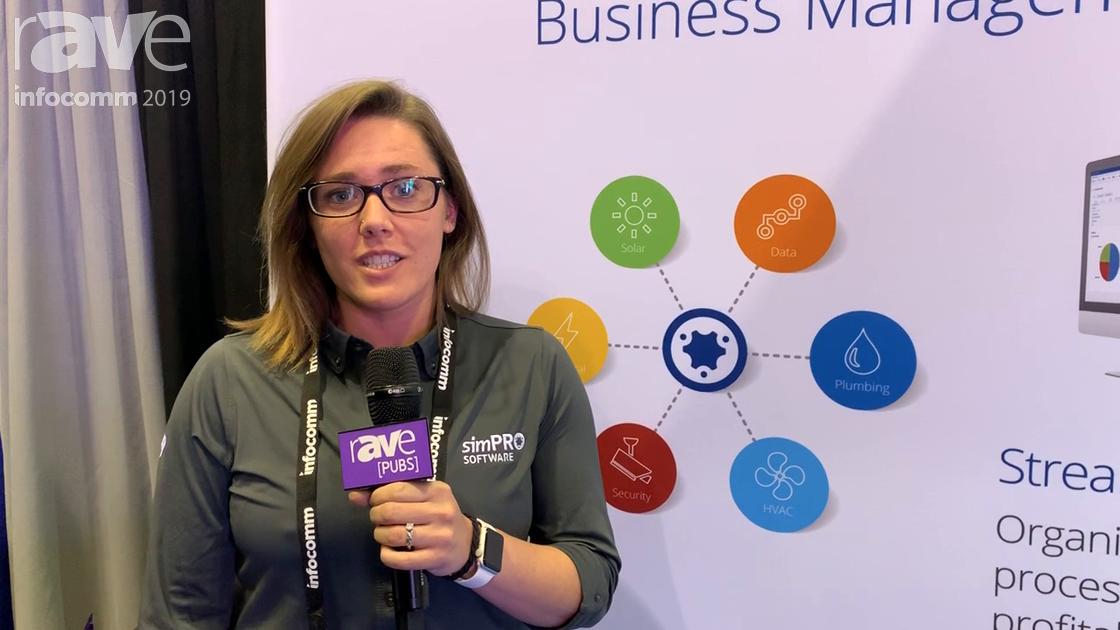 InfoComm 2019: simPRO Talks End-to-End Business Management Software for Job Management