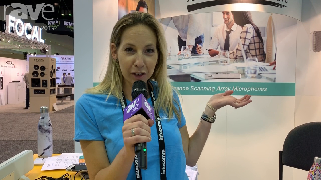 InfoComm 2019: Acoustic Magic Introduces Voice Tracker III Array Microphone