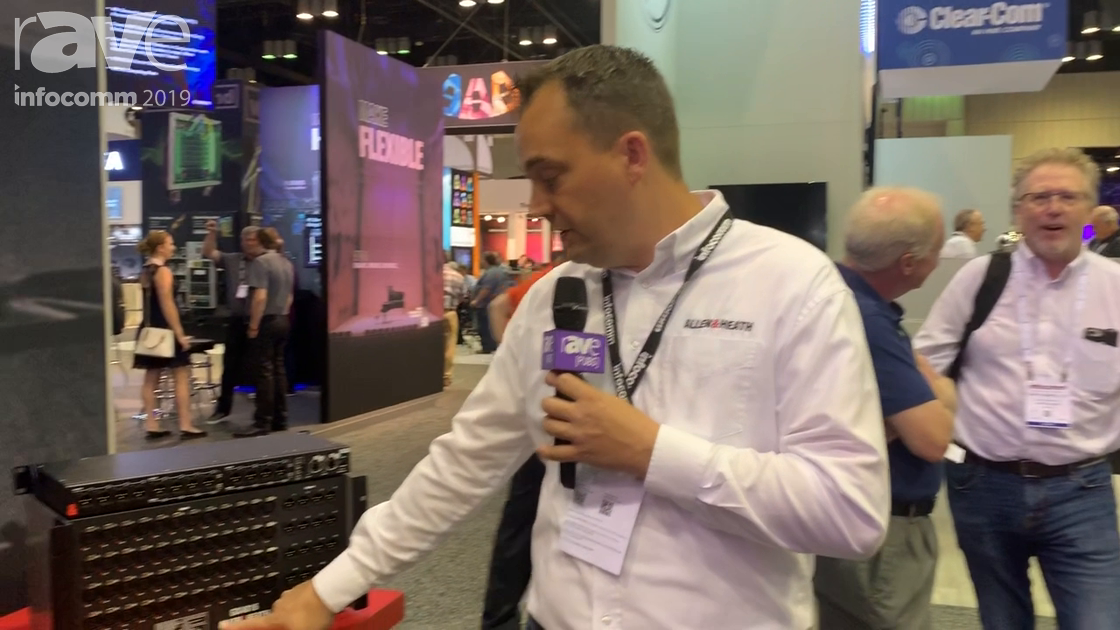 InfoComm 2019: Allen & Heath Features the GX4816 8 XLR Input / 16 XLR Output Portable GX Expander