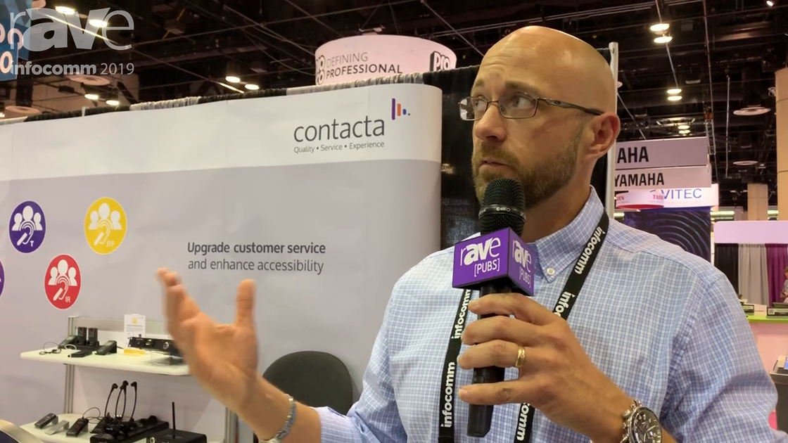 InfoComm 2019: Contacta Unveils Its New STS-K020 Speech Transfer System