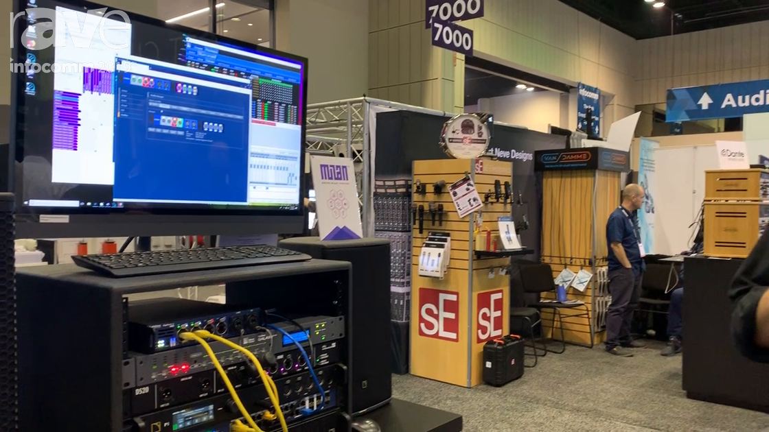 InfoComm 2019: Luminex Demonstrates the GigaCore AVB Milan Ethernet Switches
