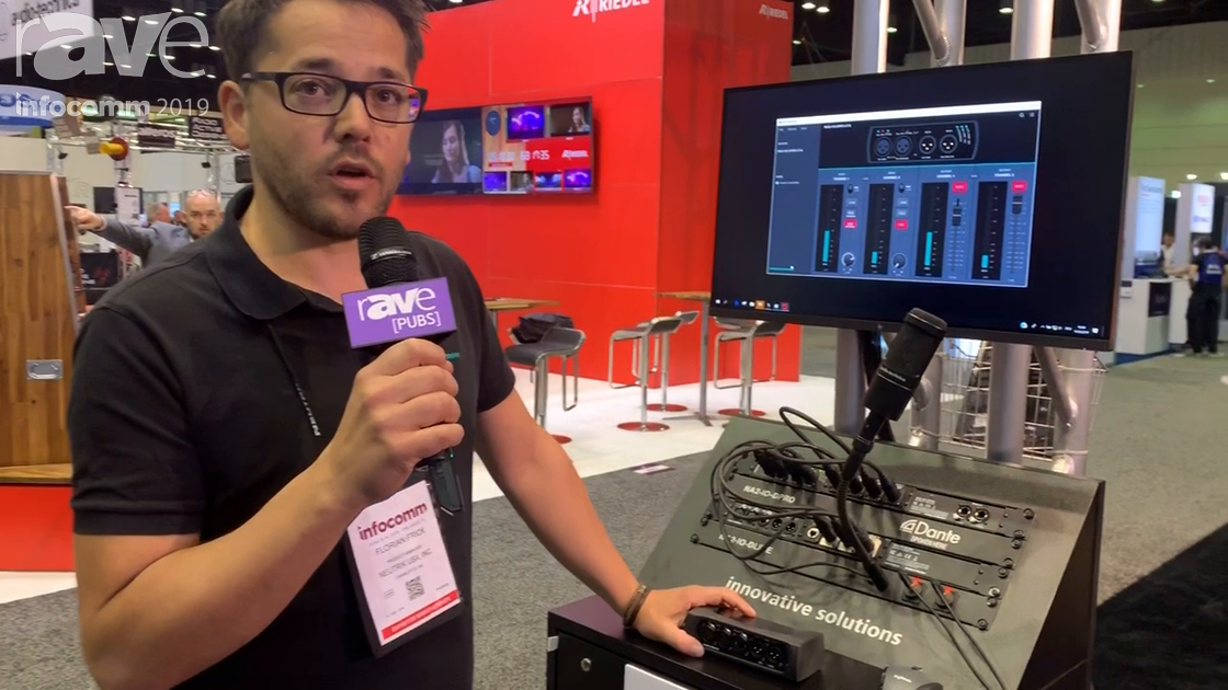 InfoComm 2019: Neutrik AG Launches the New NA2-IO-DPRO Dante Box