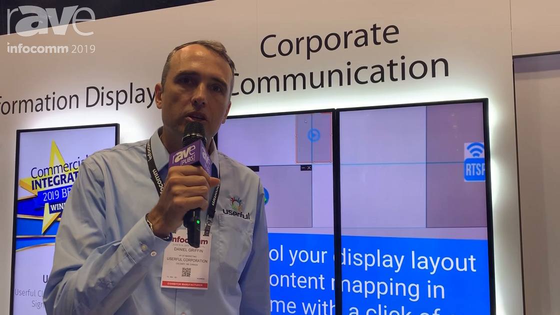 InfoComm 2019: Userful Shows How Display Management Software Can Be Used in Corporate Communications