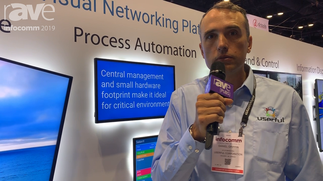 InfoComm 2019: Userful Cloud Allows Video Wall Processing Via Software for LG webOS