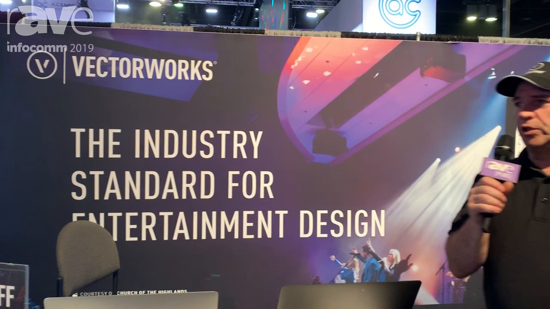 InfoComm 2019: Vectorworks Showcases Its Braceworks Suspension Analysis Software