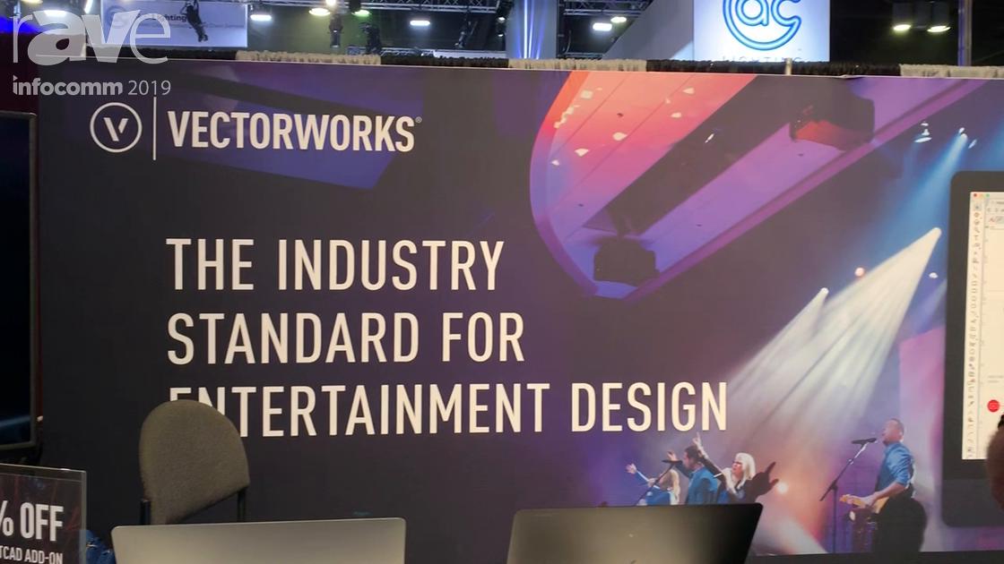 InfoComm 2019: Vectorworks Features Its Spotlight Entertainment & Lighting Design Software