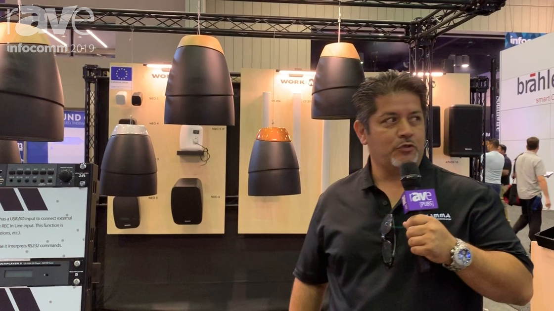 InfoComm 2019: Work Pro Shows Off the SN Series of Architectural Pendant Speakers
