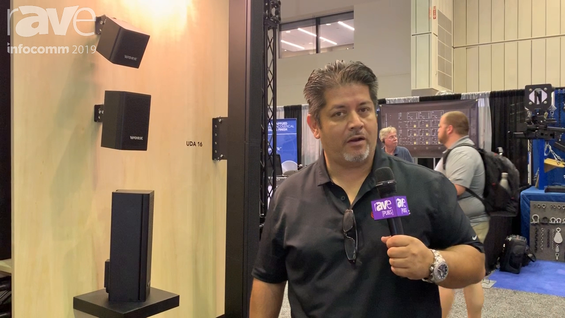 InfoComm 2019: Work Pro Shows UDA Commercial Architectural Speakers Built Completely Out of Metal