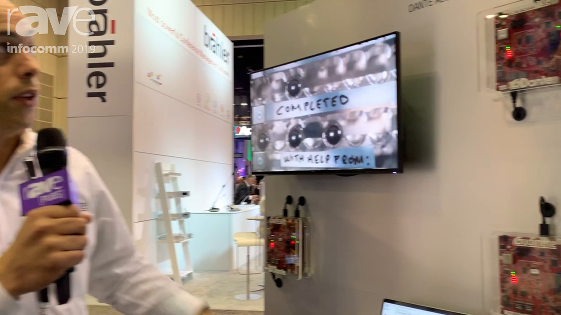 InfoComm 2019: Audinate Unveils Dante AV, a Networking Standard for Audio and Now Video