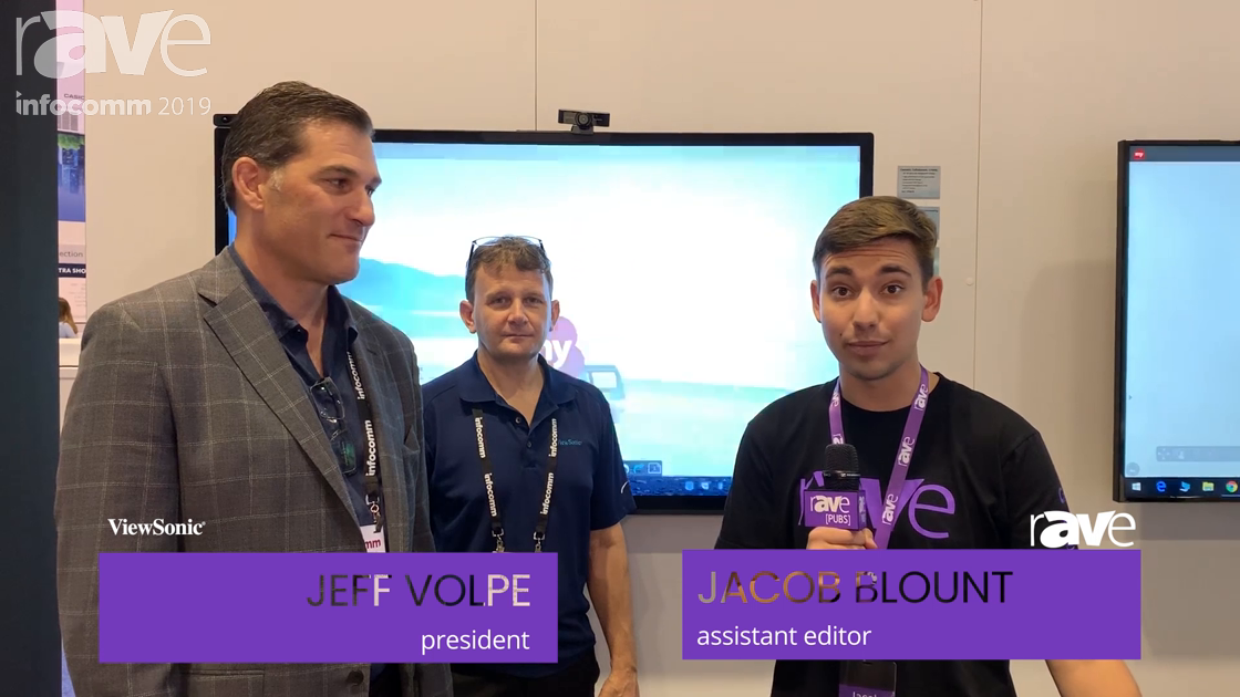 InfoComm 2019: Jacob Blount Talks to Jeff Volpe at ViewSonic About UCC and Intel UNITE Partnership