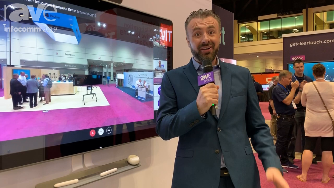 InfoComm 2019: Pexip Features Google Jamboard With Hangouts Call Working With Cisco, Polycom