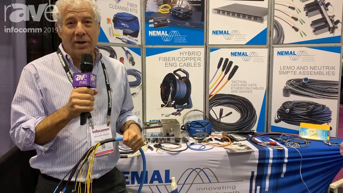 InfoComm 2019: Nemal Electronics Shows Off Its Stadium 4 Plenum Cable Systems