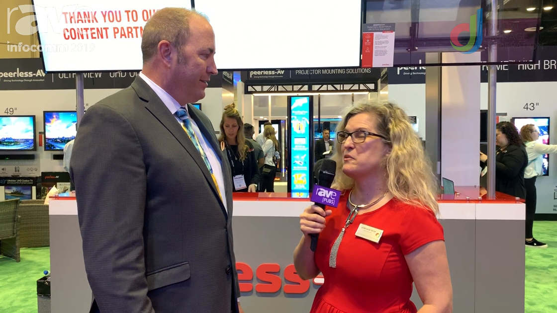 InfoComm 2019: Laura Davis-Taylor Speaks with Brian McClimans About Peerless-AV at InfoComm 2019