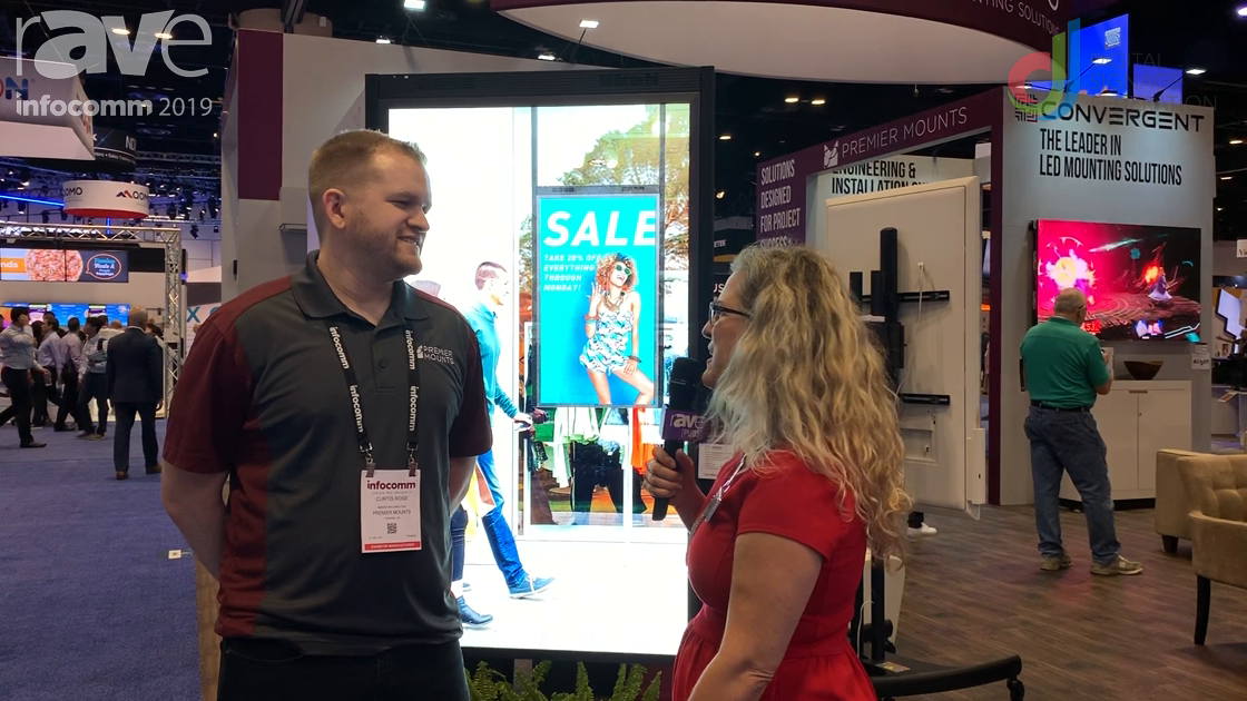 InfoComm 2019: Laura Davis-Taylor Speaks with Curtis Rose of Premier Mounts